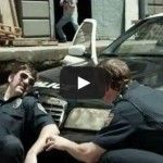 http://ilovefootballseason.com/   Football Cops Trailer w/ Peyton and Eli Manning on DIRECTV