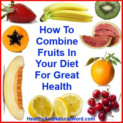 Fruits in your diet