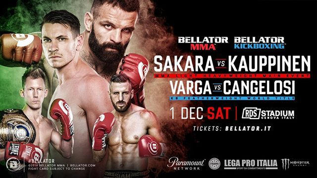 Don T Miss Bellator S Second Event This Weekend Bellator 211 Goes Down Saturday Check Out The Main Card Now Alessio S Kickboxing Mma Mixed Martial Arts