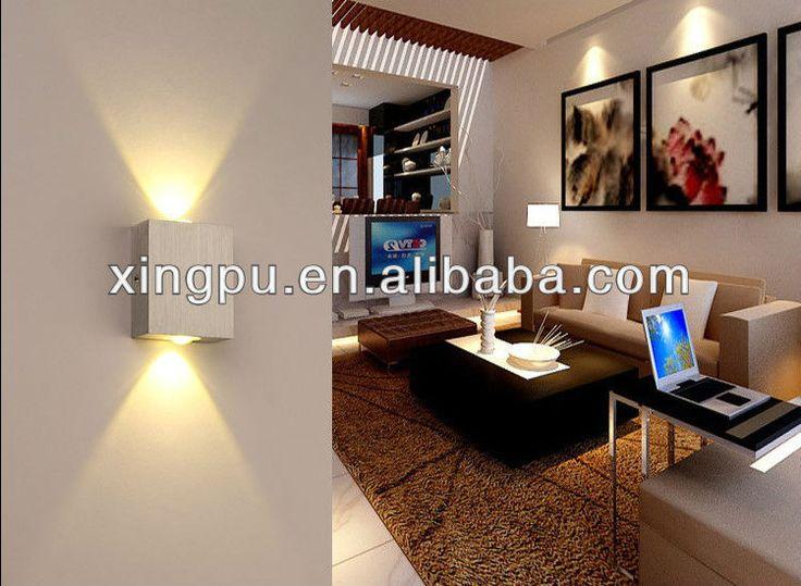 2013 New design indoor modren wall led light for home decoration (6026) $0.5~$10