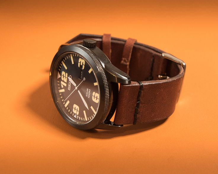 A personal favourite from my Etsy shop https://www.etsy.com/au/listing/286928385/simple-kangaroo-leather-watch-strap-2