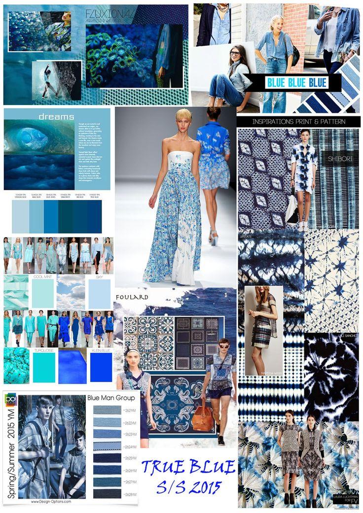FASHION TREND S/S 2015 TRUE BLUE THEME