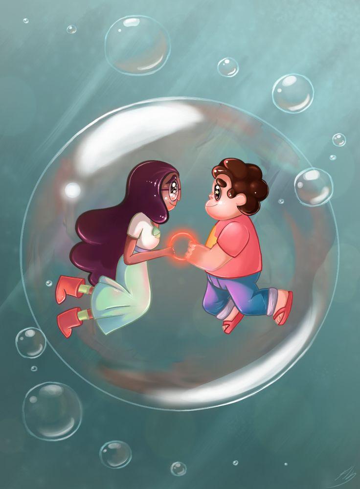 Steven universe: bubble buddy by Pearlie-pie.deviantart.com on @DeviantArt