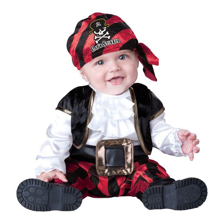 INCHARACTER COSTUMES REF:16016 PIRATA BEBE. Incluye traje especial para que cambies el pañal de tu bebe fácilmente, chaleco, cinturón y pañoleta. PRECIO COLOMBIA: 115.000