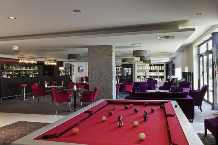 Pullman Bordeaux Lac - Bar L'Aquitania #billard #bar #pullman #bordeaux