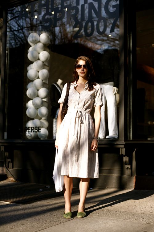 On the Street…..Bleecker St., Manhattan « The Sartorialist: Color, Dresses