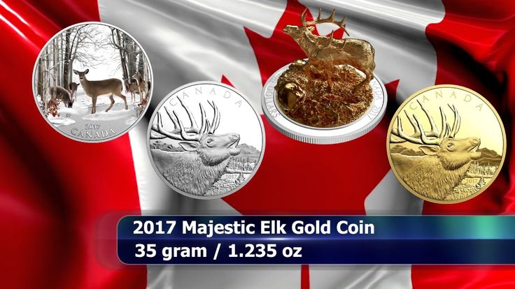 Royal Canadian Mint Commemorative Coins for May 2017