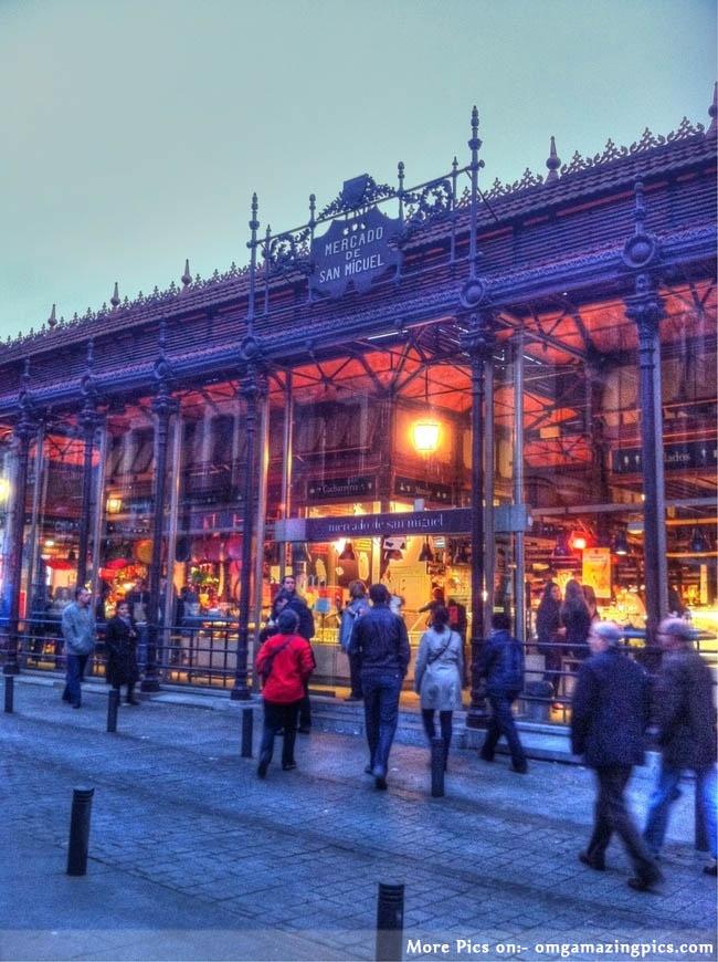 Madrid Love = Mercado de San Miguel Madrid