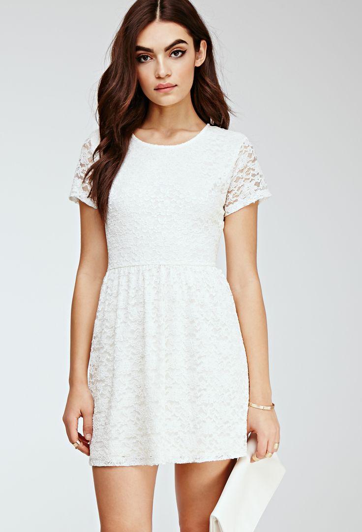 White long dresses forever 21