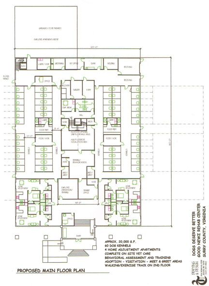 21 best dog care facility floorplans images on pinterest for Dog kennel floor plans