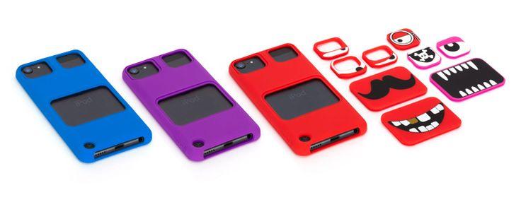 Dopo KaZoo, cover per iPod Touch 5G con gli animali, Griffin ha rilasciato le nuove custodie particolari, denominate Faces. Occhi e bocche intercambiabili ti permetteranno di avere diverse custodie per il tuo iPod Touch 5G! La custodia Faces di Griffin è realizzata in silicone di alta qualità, ed è un ottimo modo per potare sempre con sè il tuo iPod ben protetto!