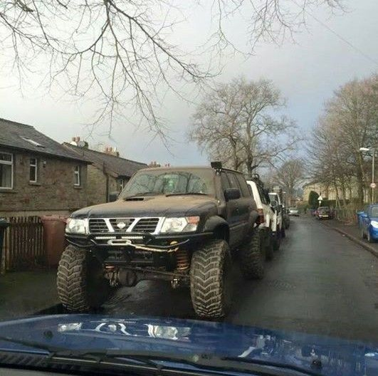 Monster Nissan Patrol Gr Y61