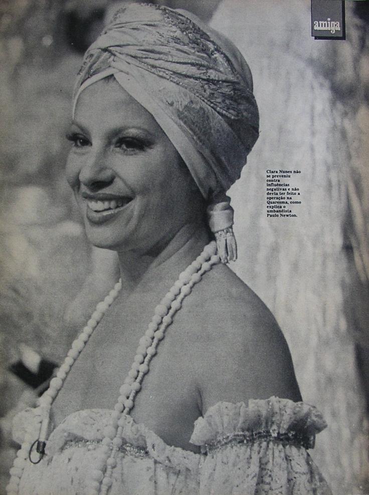 Clara Nunes / cantora