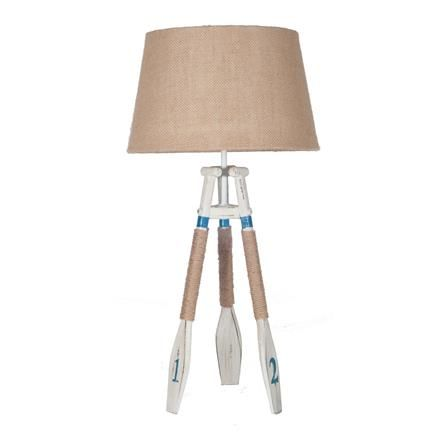 ACHICA | Nautical Tripod Oar Table Lamp