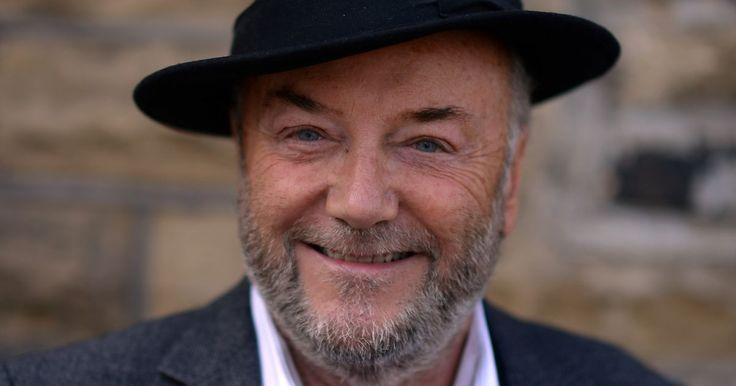 Watch moment George Galloway 'is attacked with glitter during scuffle with student protesters at university' - Mirror.co.uk