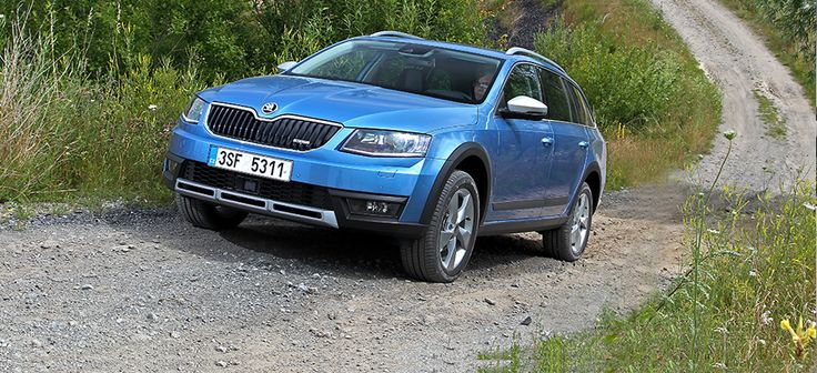 The new ŠKODA Octavia Scout: a workhorse with tough 4x4 capabilities - ŠKODA