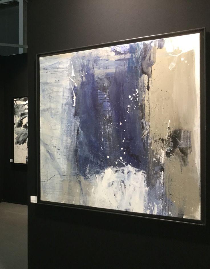 Bernadette Morand Art 3 F Nantes 120x120cm