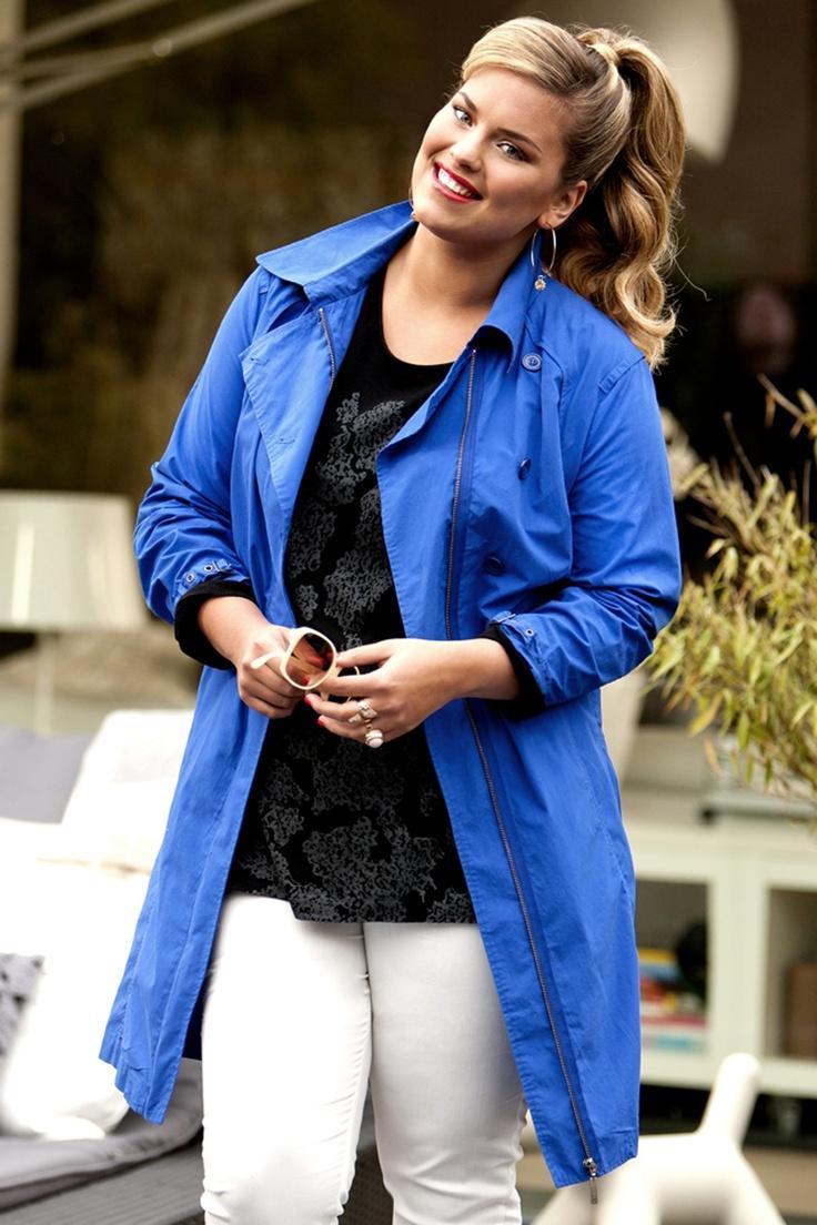 Hamona, L.jacket::jassen::Grote maten mode | Bagoes fashion | grote maten mode online