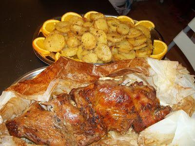Κουζινοπαγίδα της Bana Barbi: Αρνάκι στη λαδόκολα του χασάπη
