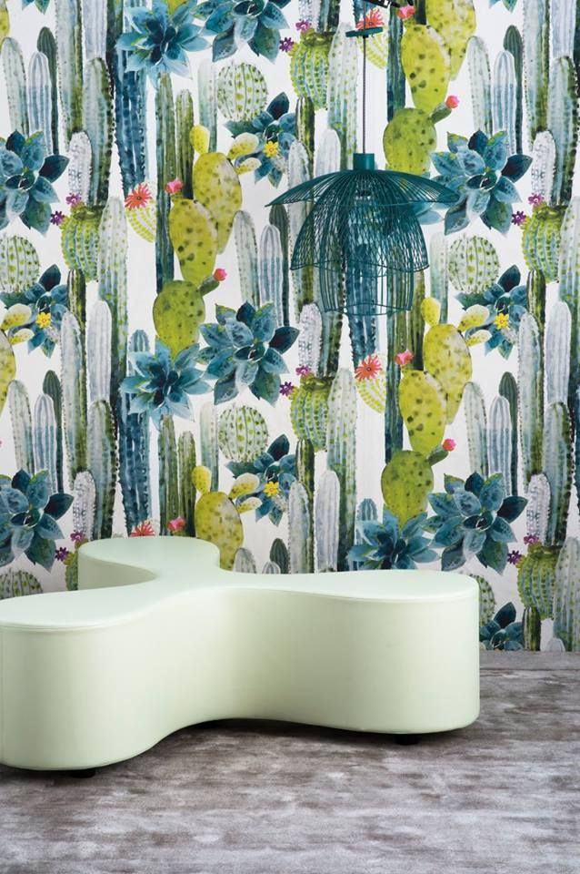 """from Pierre Frey Jungle collection FP399 CUILKO WALLPAPER  Width 140 cm/55.1"""" Repeat (V) 103 cm/44.5"""" (H) 140 cm/55.1"""" Non woven paper   157 euros/per metre"""