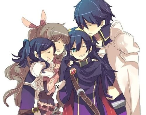 Fire Emblem AwakeningFire Emblem Lucina And Avatar