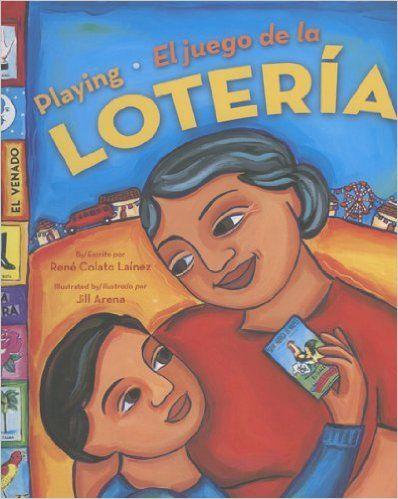 Este libro se trata de un niño que fue a visitar a su abuela. Esta preocupado porque no puede hablar muy bien el español. Al final aprende mucho español jugando un juego muy divertido, la loteria.