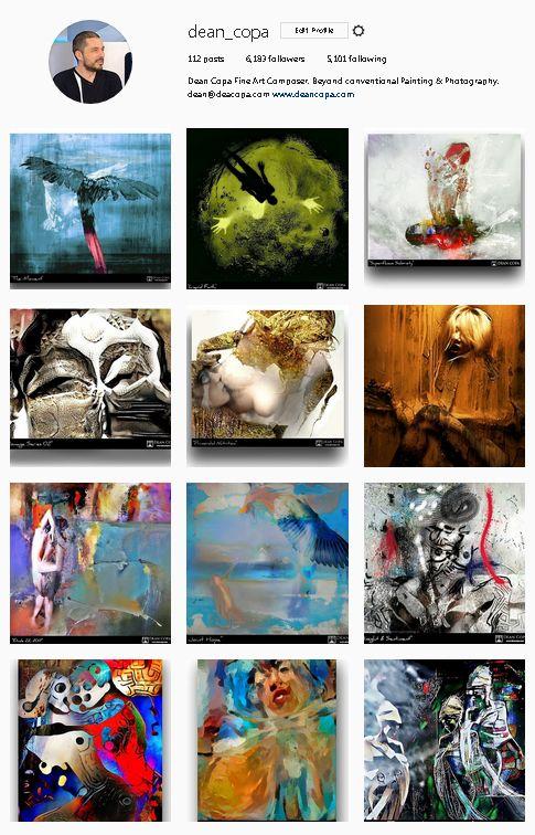 Artworks of 2013-2017 by Dean Copa. // Instagram : http://www.instagram.com/dean_copa
