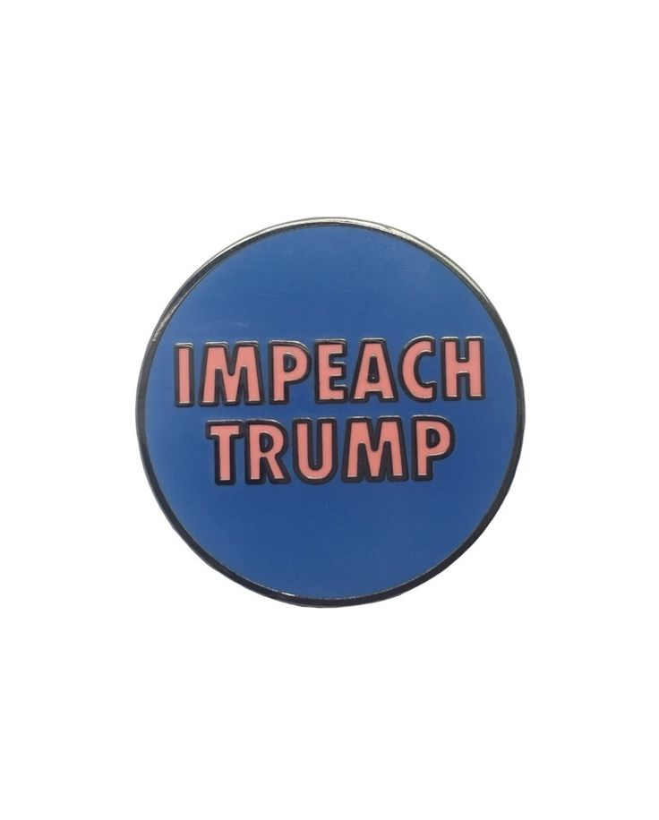 Stand on the right side of history. Use your voice! Let others know that you don't support a president who is luke warm about racism. Nothing will change if you put your head down and don't stand up for what's right! 100% of sales from this pin will go to the @aclu_nationwide. If you don't want to buy a pin but you also believe that Trump should be impeached I encourage you to share your message in a positive constructive and empathetic way. If you don't agree with what I believe I also…
