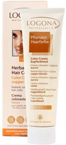 logona herbal hair colour cream copper blonde particularly suitable for light blonde to light - Logona Color Creme