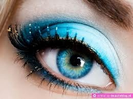 oog make up - blue