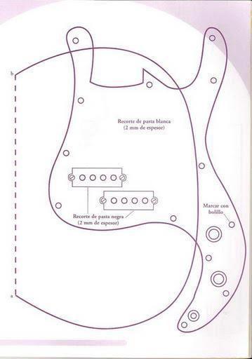 Como hacer una guitarra de tela con moldes03