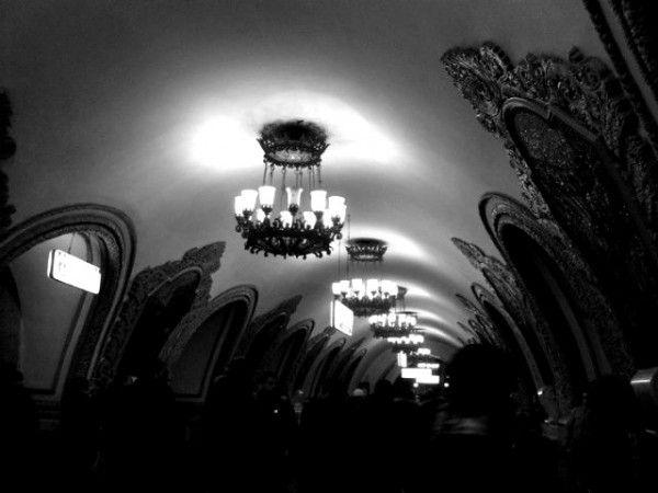 Moscow – Kievskaya Metro Station