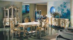 Sala da pranzo stile veneziano - Arredamento in stile veneziano