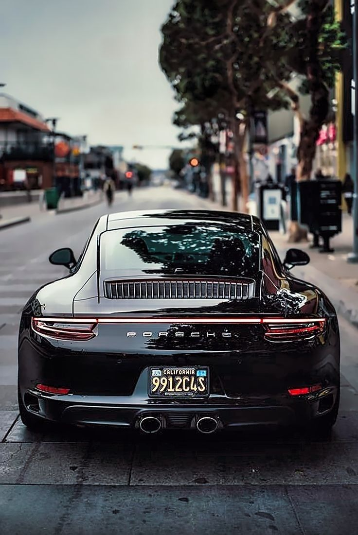 Black Porsche Wallpaper In 2020 Porsche 911 Black Porsche Porsche 911 Classic