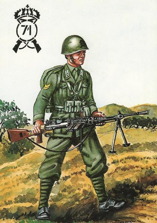 Regio Esercito - Sergente del 71° Reggimento Fanteria