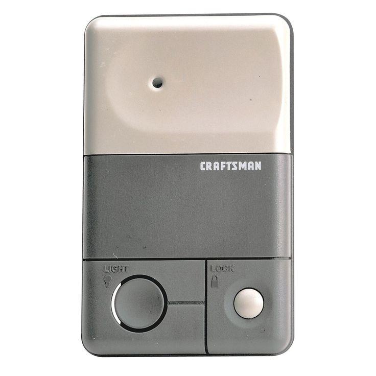 Craftsman Garage Door Opener Remote Control