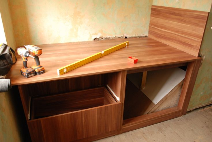 Cabin Bed With Drawers Taking Shape