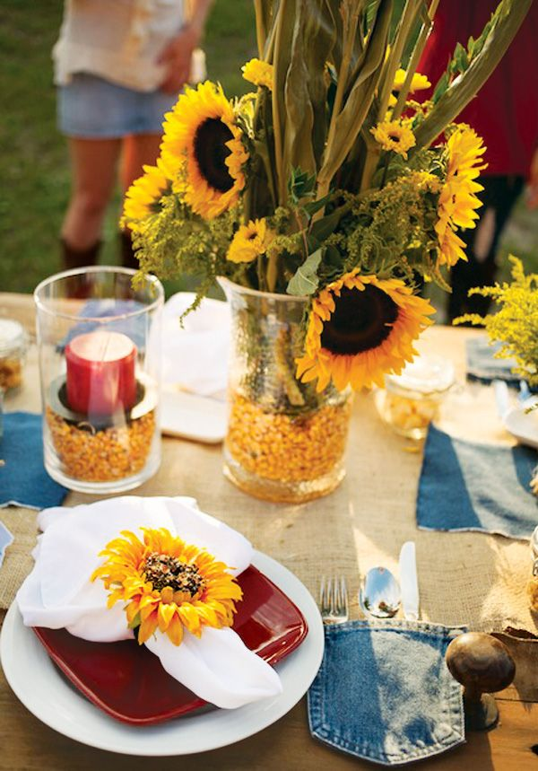 rustic american gothic rehearsal dinner