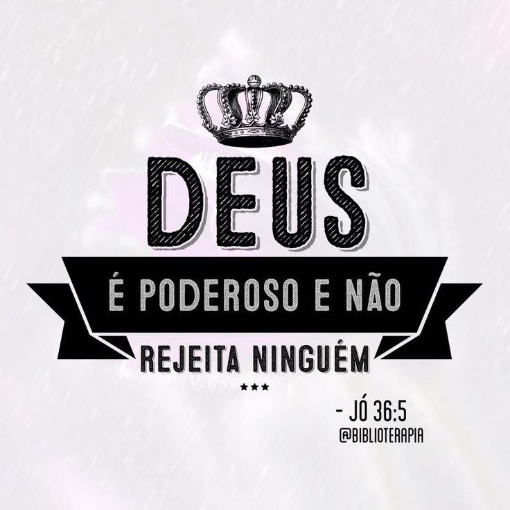 Deus é poderoso