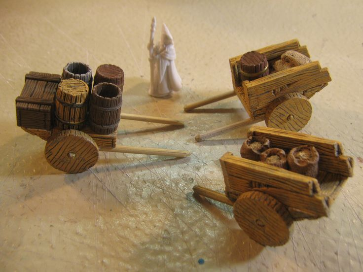 Night Owl's custom Hirst Arts Handcarts