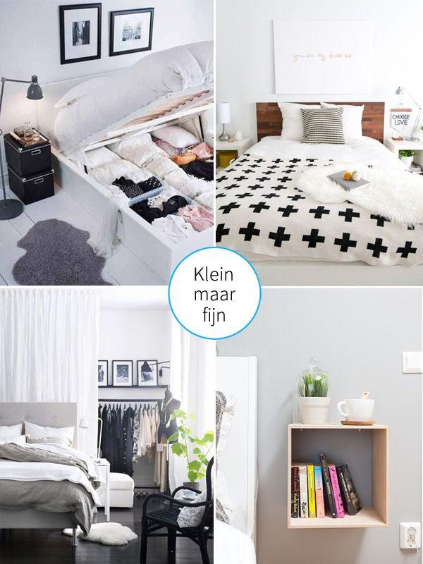 Meer dan 1000 idee n over kleine slaapkamers op pinterest kleine kamer inrichting kleine - Outs kleine ruimte ...