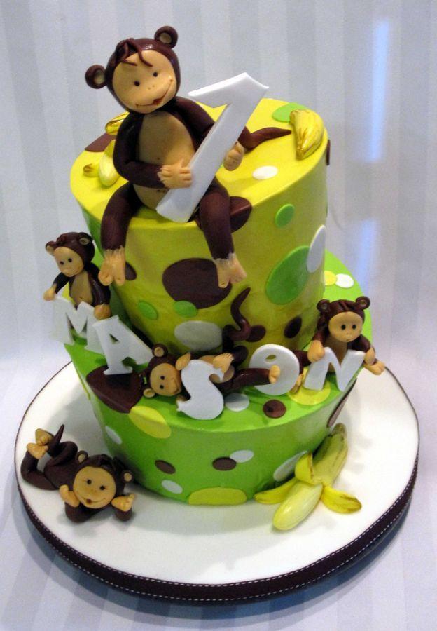 monkeys cake cake by claudiaegb monkeys cake by claudiaegb cake ...
