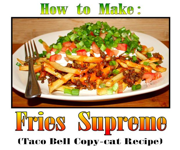 Picture of How to make Fries Supreme