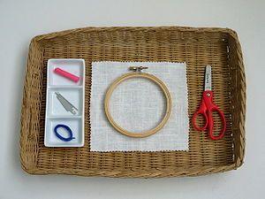 Embroidery - MontessoriAlbum