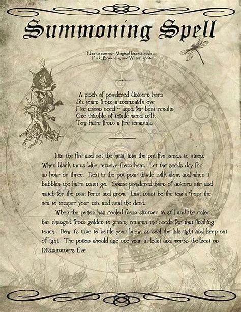 Shadows All Charmed Spells Book