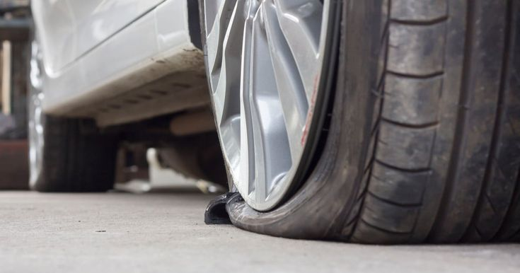 A bit pf patchwork: Here's how to fix a flat tire