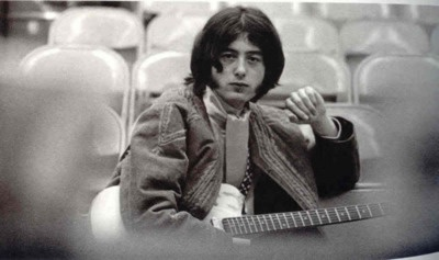 Jimmy Page, October 22,1966* Staples High School Auditorium, Westport, USA.