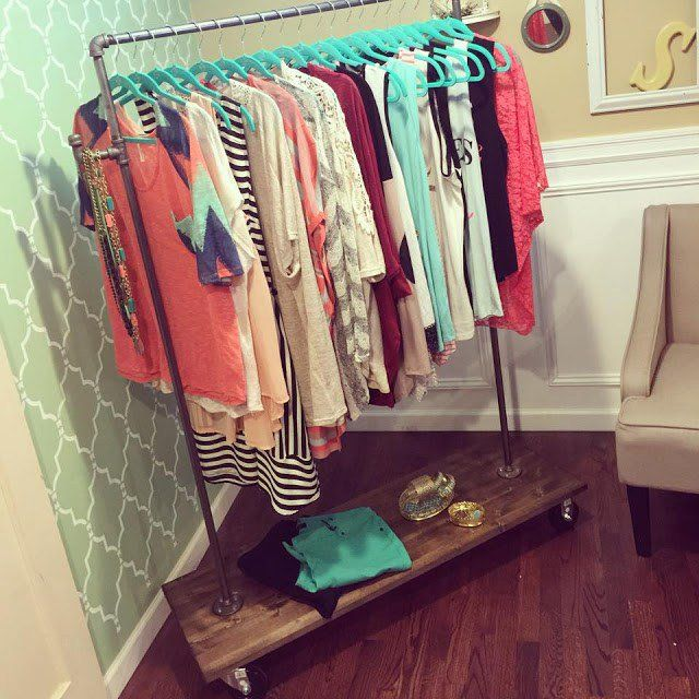 18 Classy Closet Storage Solutions For Your Clothes: 1000+ Ideas About Clothes Storage On Pinterest