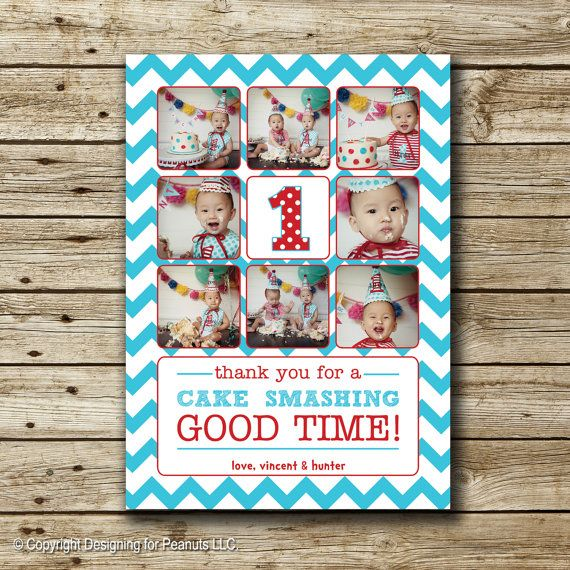 51 best Invitations Thank you notes images – Picture Collage Birthday Card