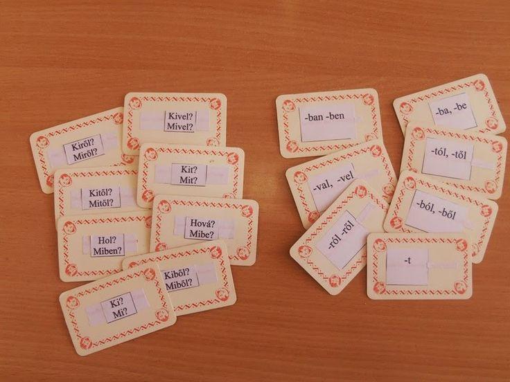 Játékos tanulás és kreativitás: Toldalékok gyakorlása kártyákkal